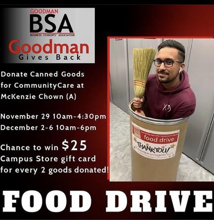 BSA Community Care Food Drive