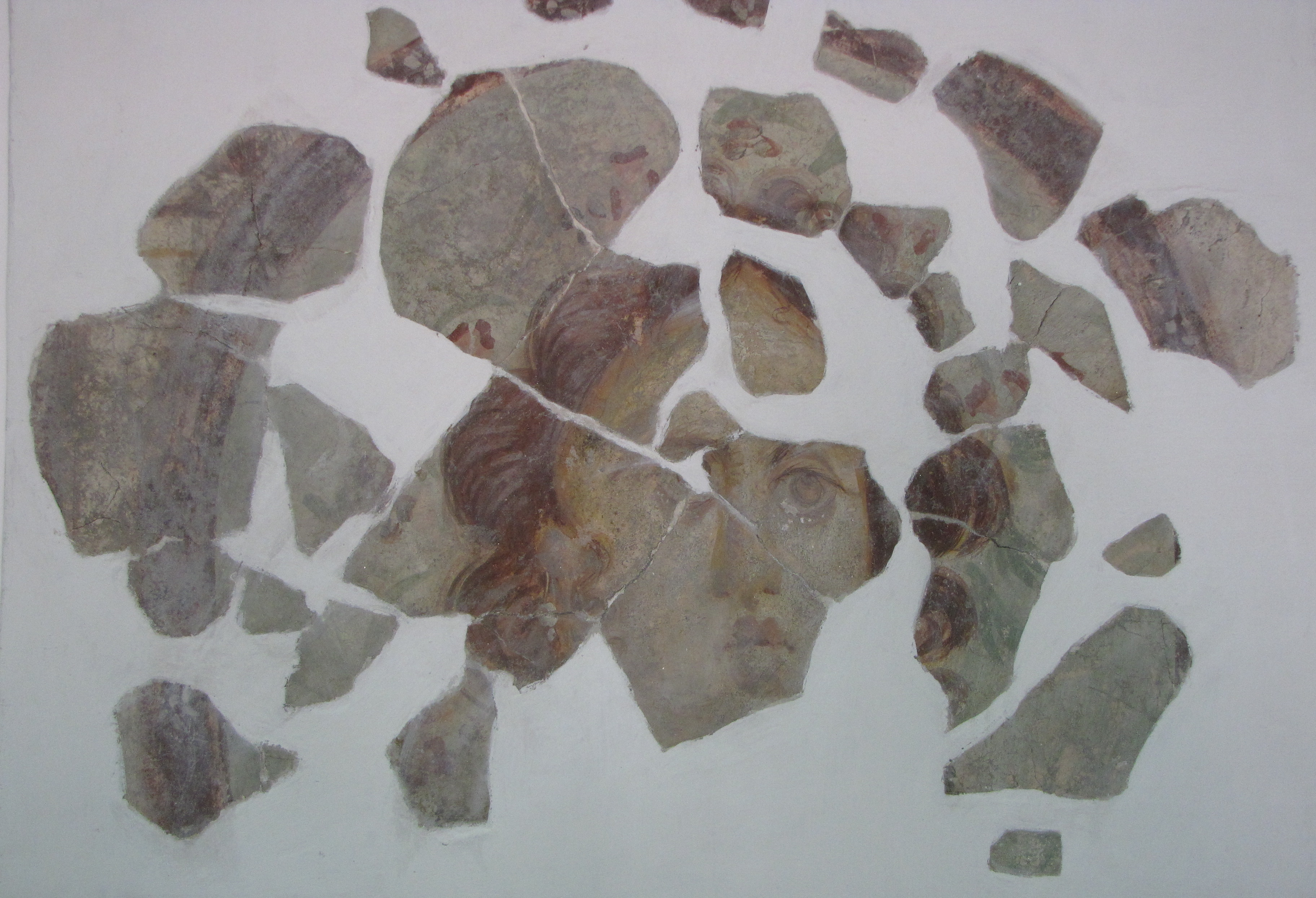 Fresco from Sirmium