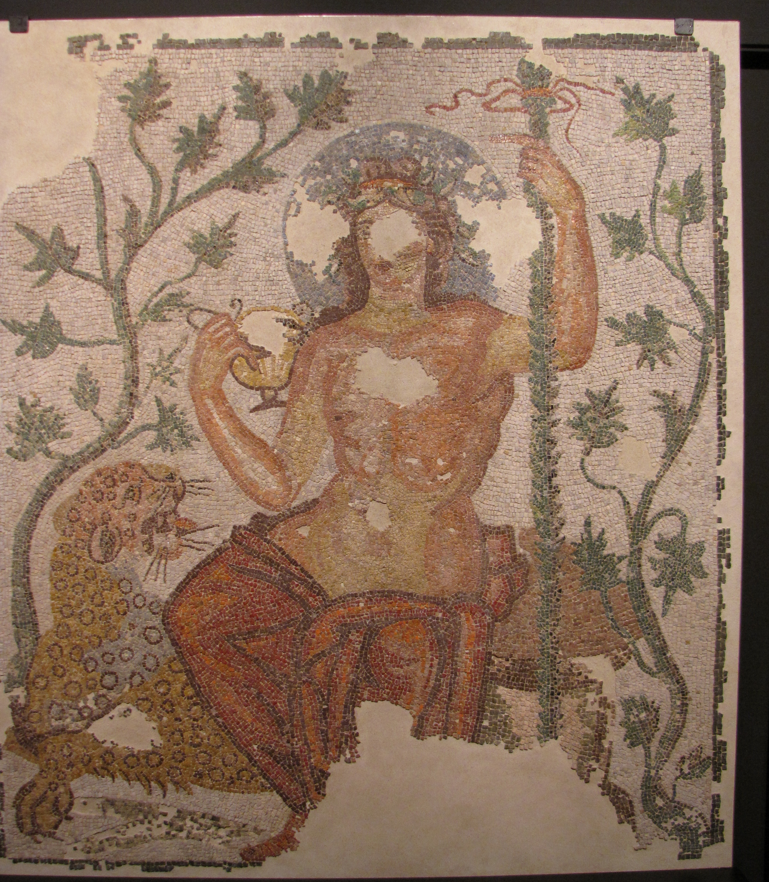 Dionysus from Felix Romuliana