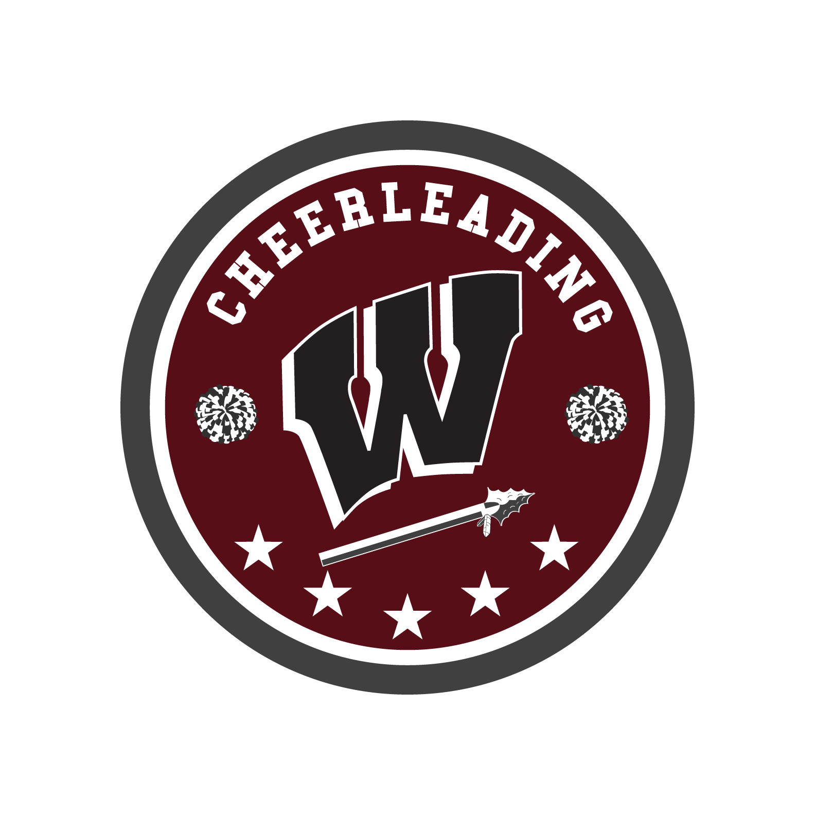 Windsor High School Cheerleading Logo