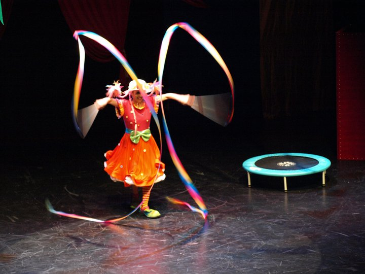 "Facebook - ""El Circo de Enriqueta y Agapito"" at the Adrienne Arsht Center"