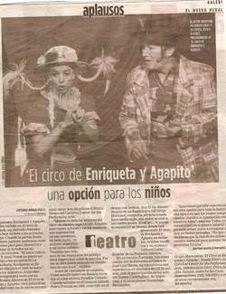 """Facebook - """"El Circo de Enriqueta y Agapito"""" at the Adrienne Arsht Center"""