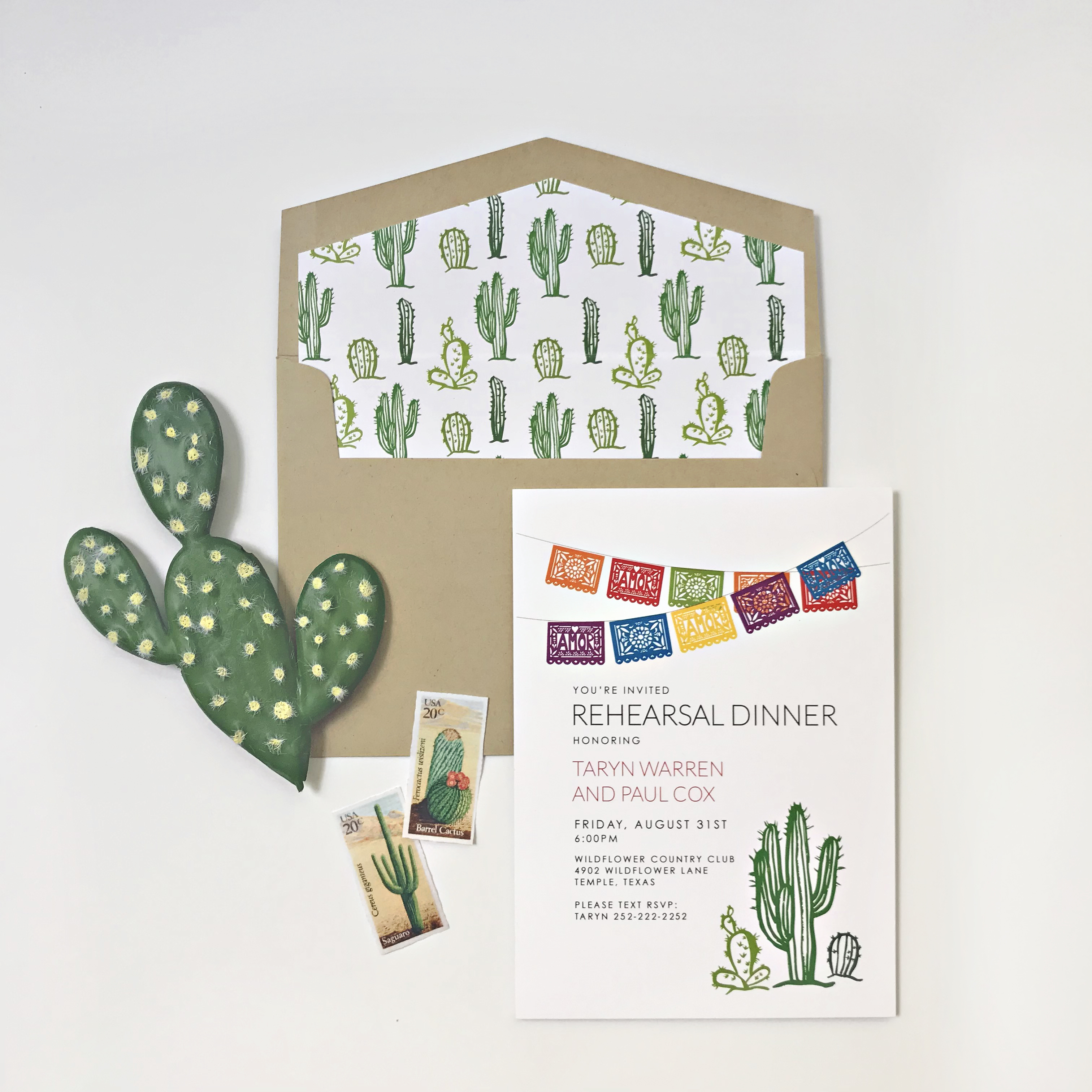 Fiesta Rehearsal Dinner Invite