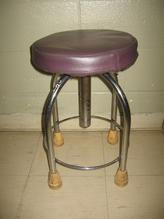 Purple stool 2