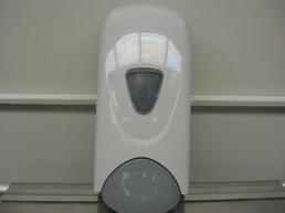 Wall-mount soap dispenser