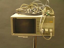 Older ECG machine