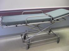 Older ambulance gurney