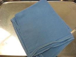 Blue OR cloth