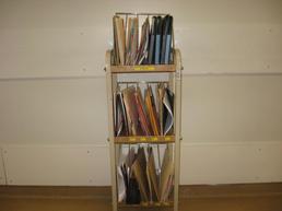 3 level folder cart