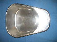Stainless steel smaller bed pan