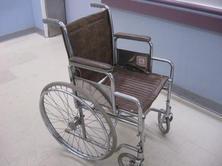 Brown wheelchair