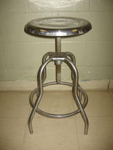 Stainless steel stool 1