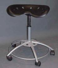 Black lab stool