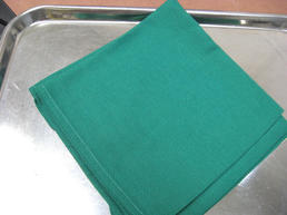 Green OR cloth