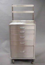 STAINLESS STEEL CABINETRY and TABLES