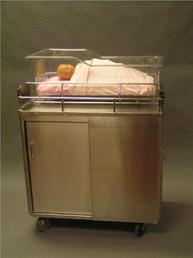 Stainless steel bassinette