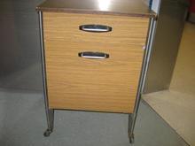 Older brown bedside table 1