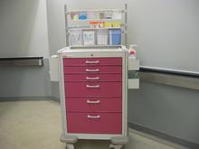 Pink crash cart