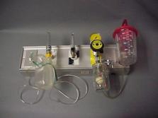 Stainless steel oxygen panel