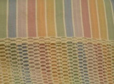 Rainbow colour privacy curtains
