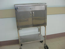 Small stainless steel cabinet