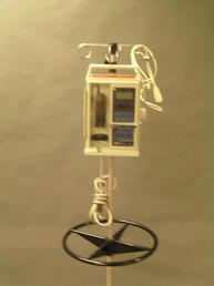 Baxter IV pump with IV bags