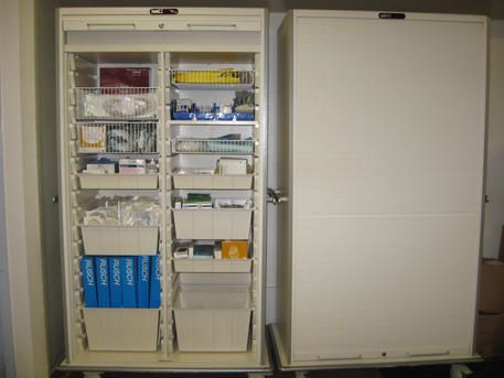 SUPPLY AND LINEN CARTS, BIOHAZARD CARTS