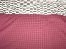 Cranberry colour privacy curtains