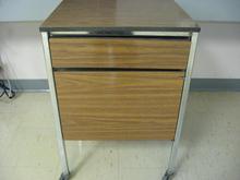 Older brown bedside table 2