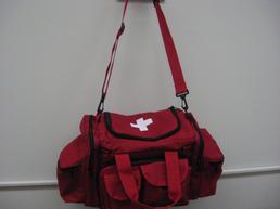 Red ambulance bag