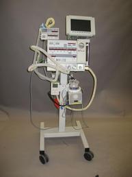 Modern ventilator machine - BACKGROUND ONLY