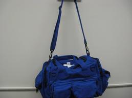 Blue ambulance bag