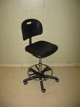 Black lab chair