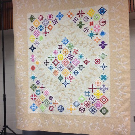 Quilter's Unlimited 2014 Quilt Show Raffle Quilt