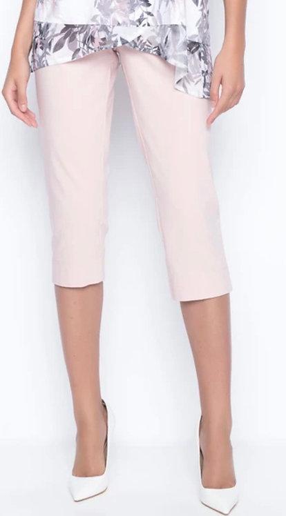 Pastel Capri with Side Slit