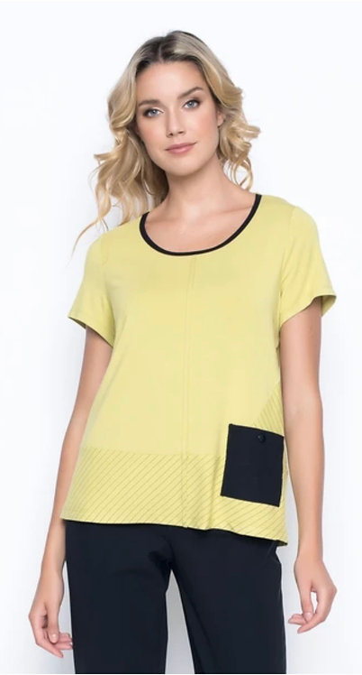 Citrus Top With Pocket