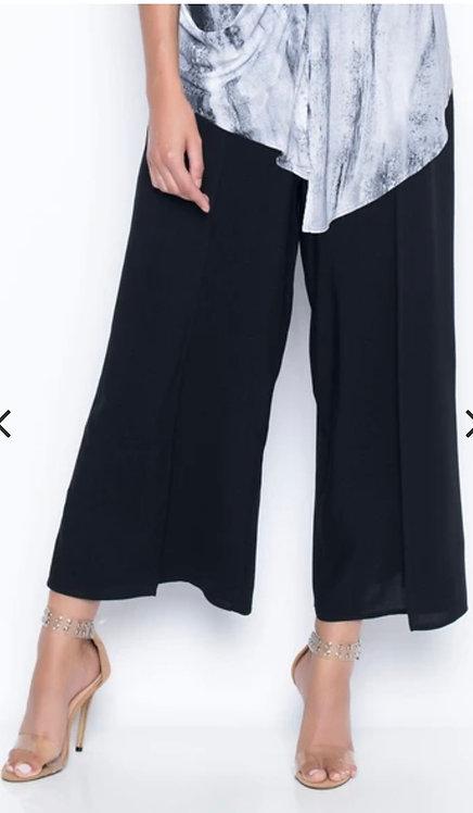 Navy - Flowy Wrap Pants