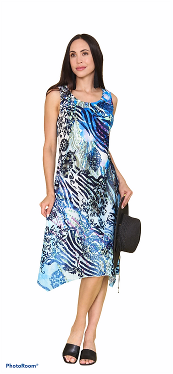 Island Blue Dress