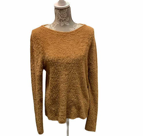 Camel Soft Knit Sweater
