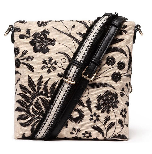 Maui Kemi Linen Crossbody Bag