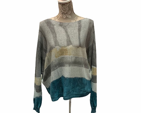 Lightweight knit with sparkle embellishments