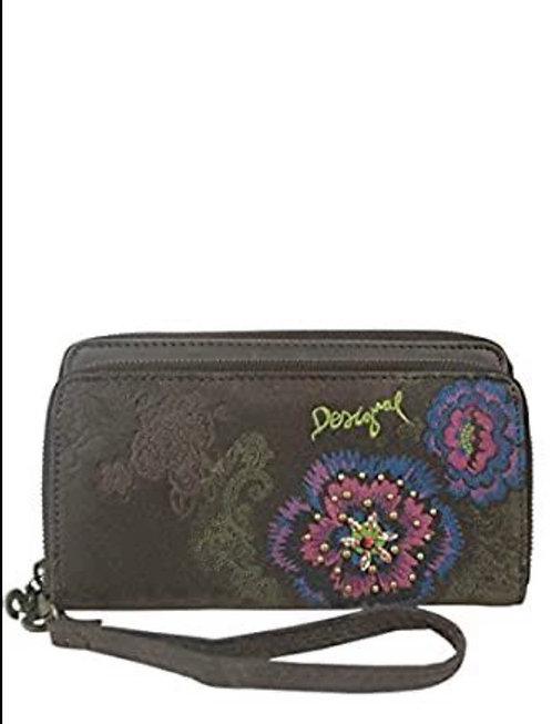 Two Levels Flower Wallet