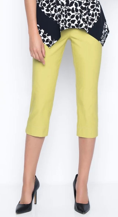 Key Lime Capri with Side Slit