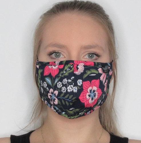 Multi Floral Cotton Mask