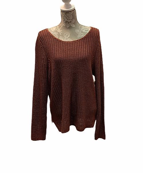 Hazel Colored Knit Sweater