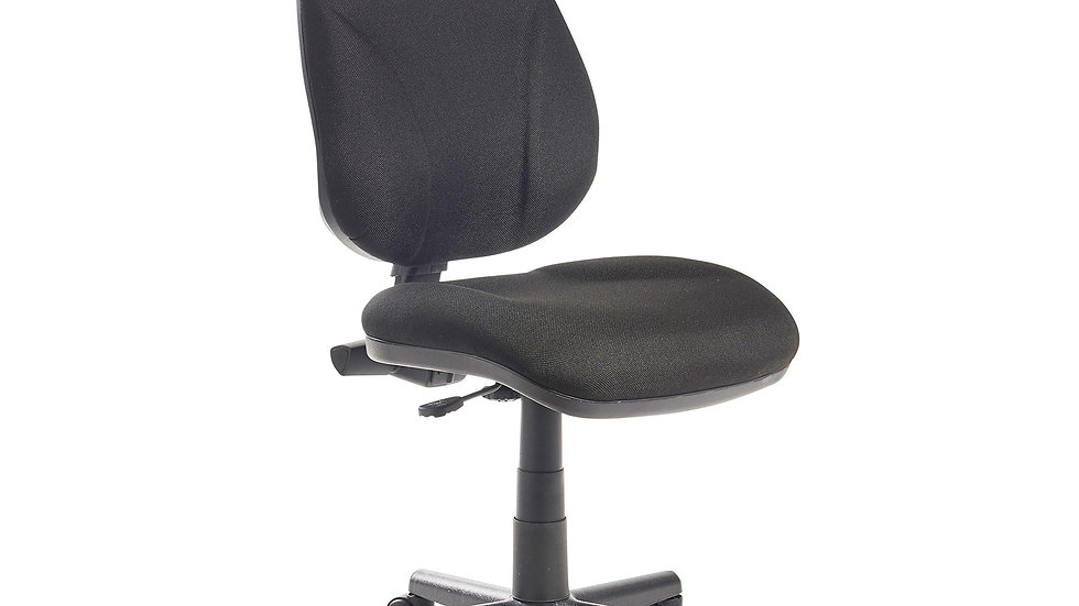 Lumbar Operator Fabric chair - 2 Colours Available