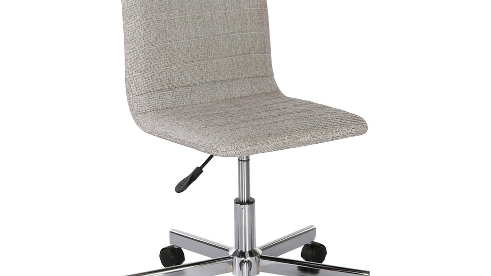 Reed medium back fabric operators chair - grey