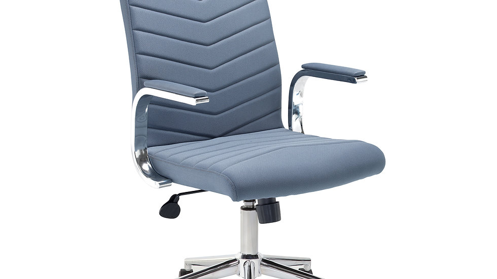 Martine high back Grey fabric managers chair
