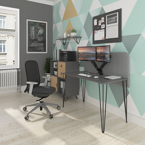 Hairpin home desk - 3 colours & sizes
