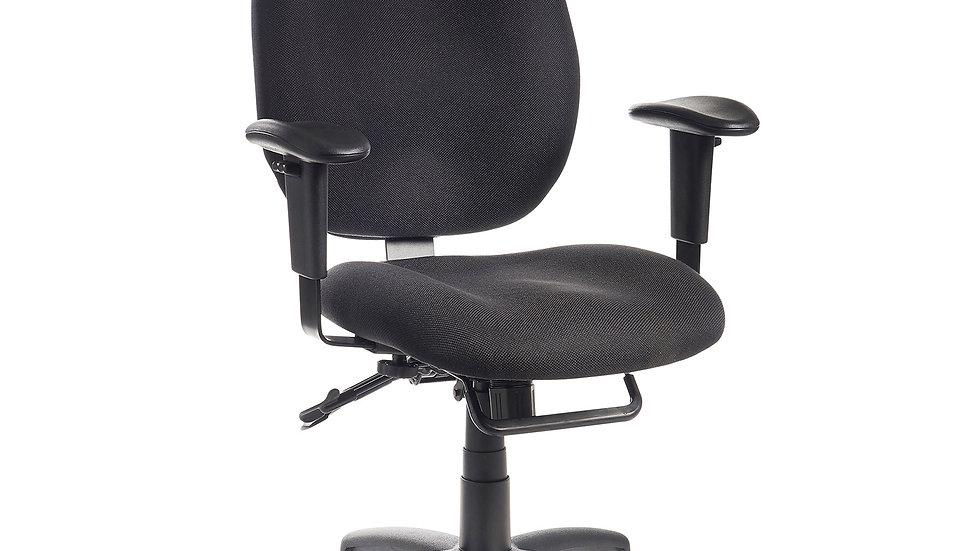 Ergonomic multi functional operator chair - 2 colours